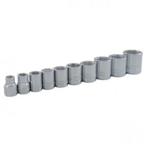 10 Pieces 6 Point Standard SAE Socket Set